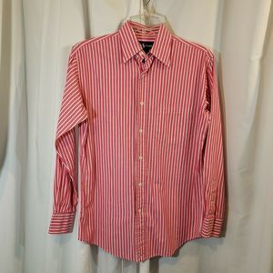 Ralph Lauren 6 pink striped shirt career wear FLAW